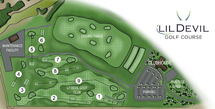 Lil Devil Course Map