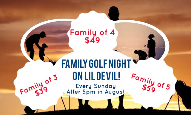 Lil Devil Family Golf Night 1