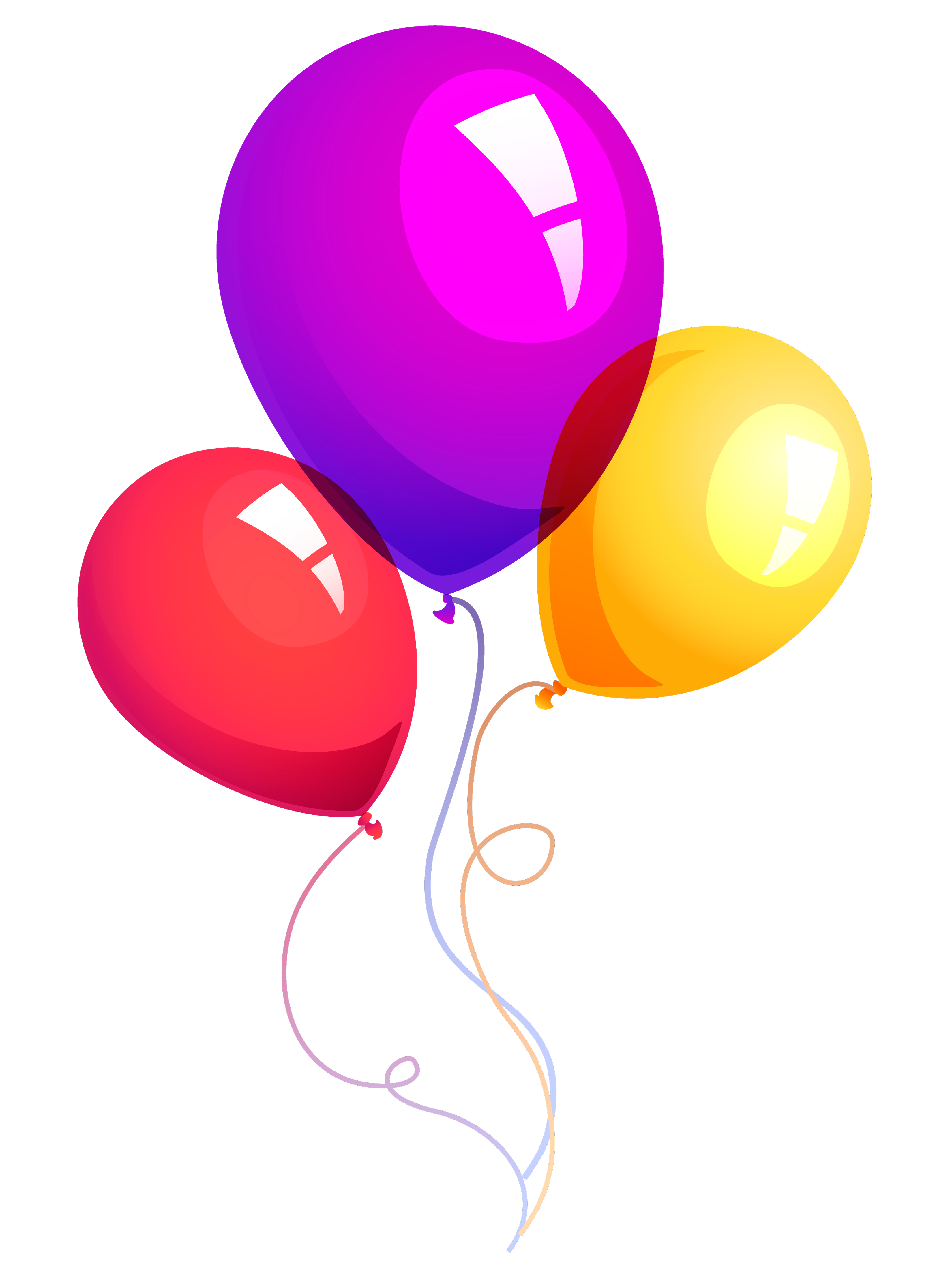 Balloons PNG Pic